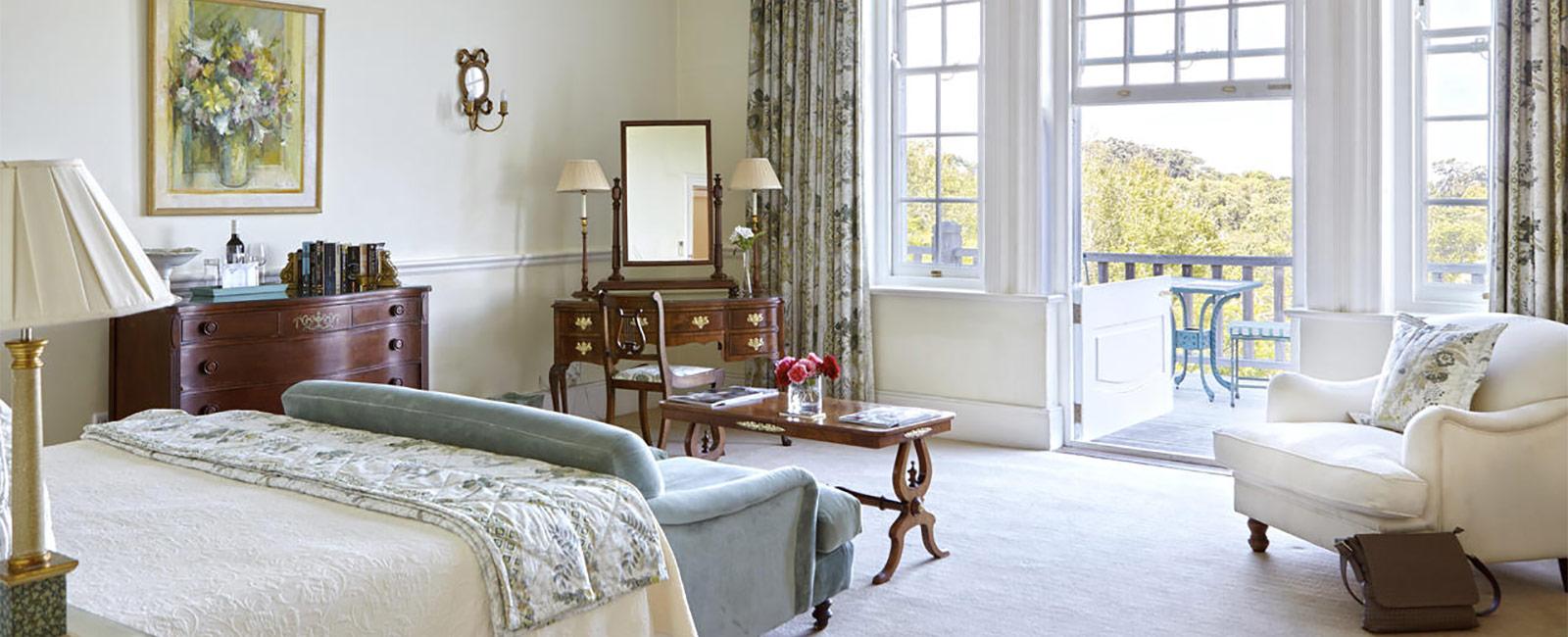 Luxury Double Room with Verandah
