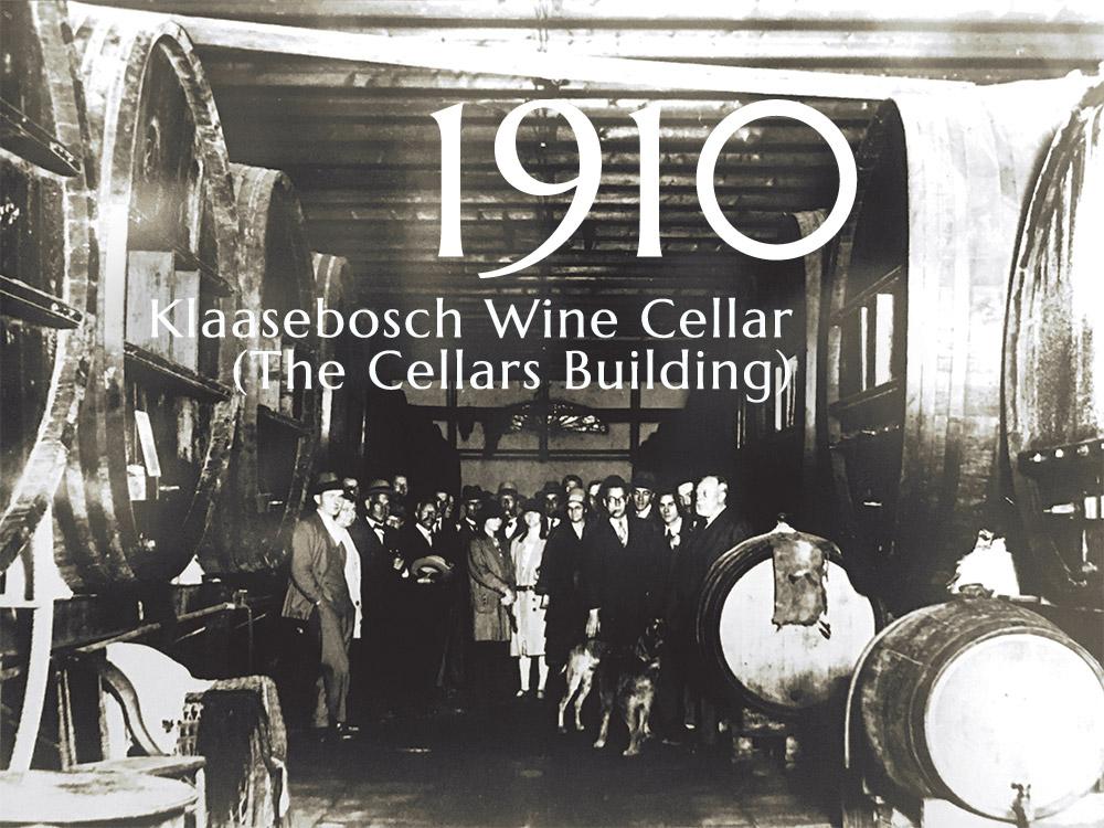 The original wine cellar at Klaasenbosch Farm in 2010 - The Cellars Hohenort